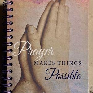 Journal- NEW- Christian Notebook - Praying Hands